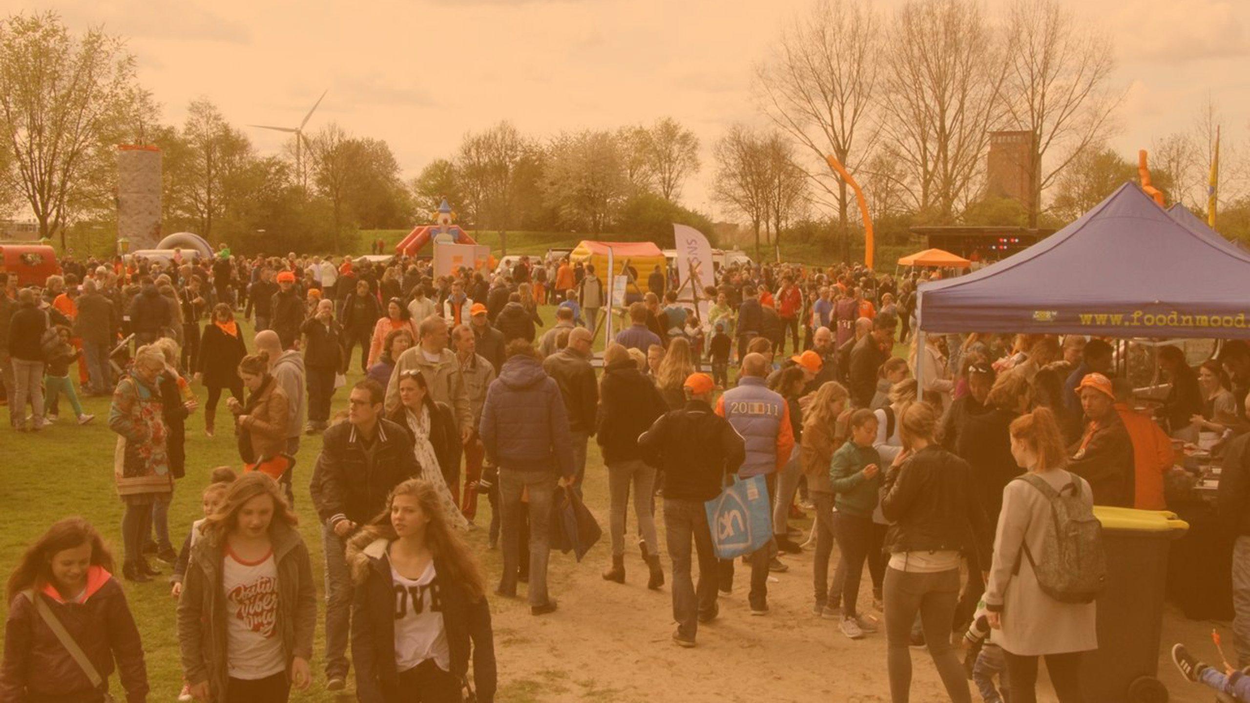 Header Image - Koningsdag in Houten